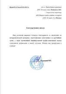 Рудницкий М.Е. ДНП «Полевой стан»